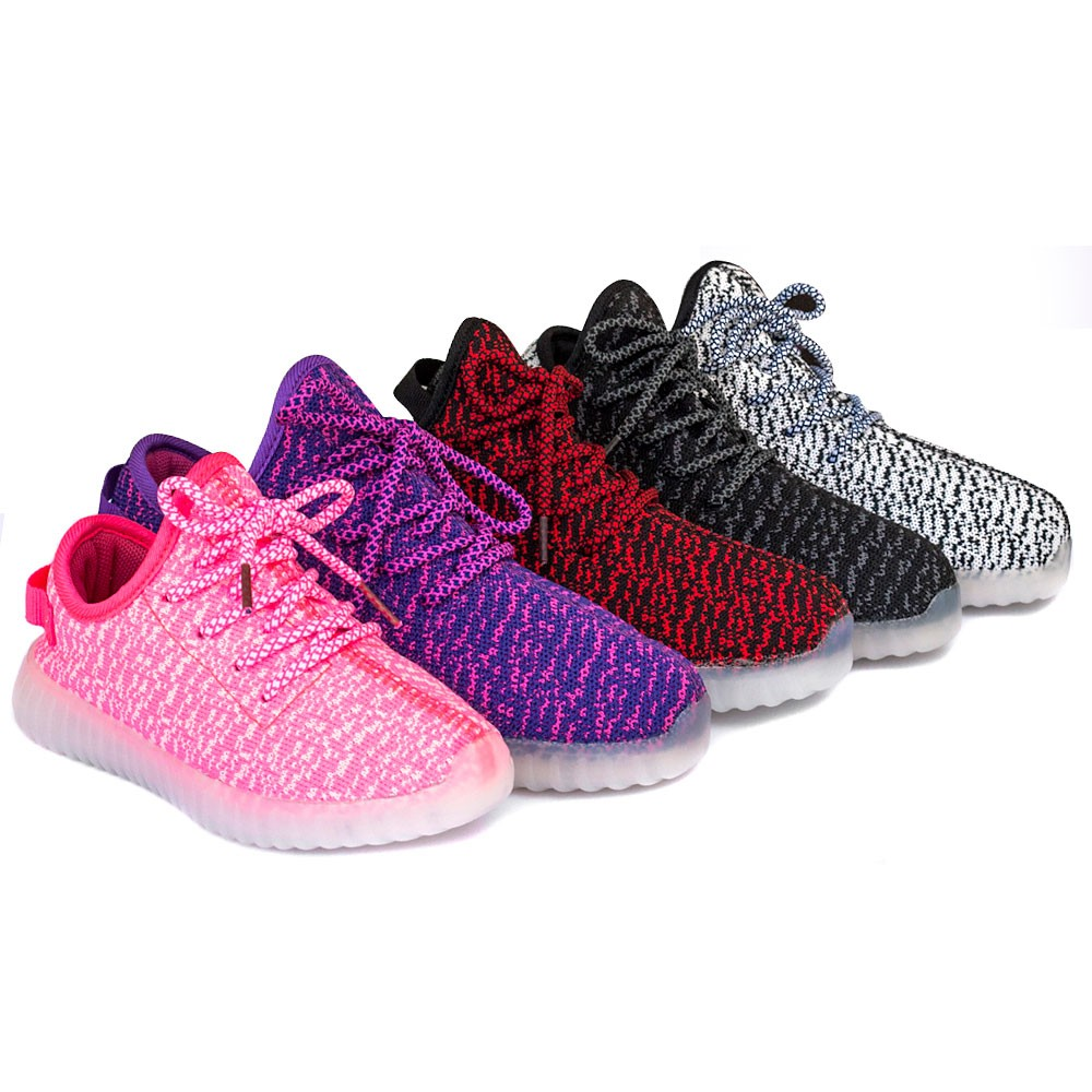 Wholesale TEEMWAY TWLS07 LED Flashing Sneaker Unisex or Kids 12pairs/carton